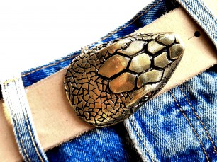 Buckle Snake gold 1